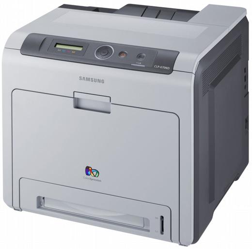 samsung - clp-670-n