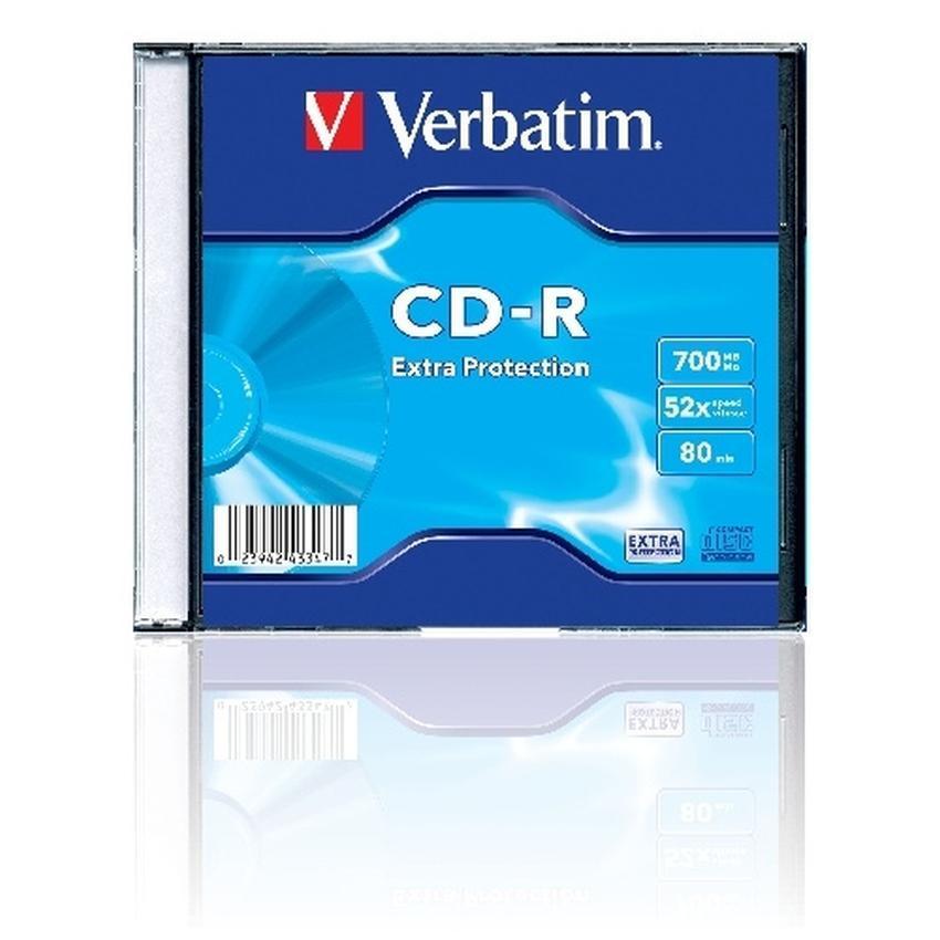 PŁYTY CD-RW VERBATIM 700MB