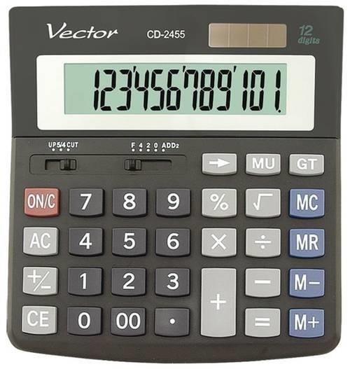 KALKULATOR VECTOR CD2455