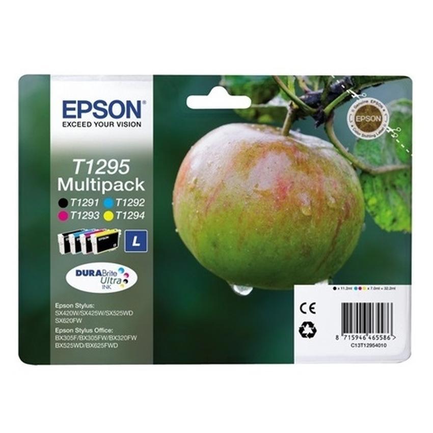 Tusz Epson T1295 (T1291+T1292+T1293+T1294) [C13T12954010] Multipack