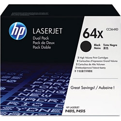Toner HP 64X dwupak [CC364XD]