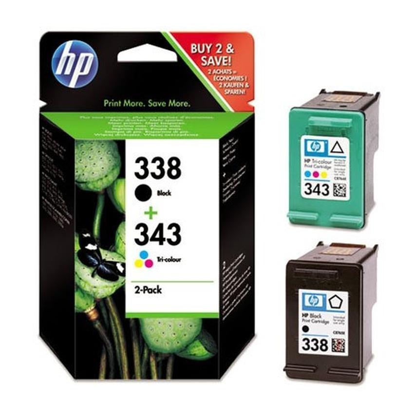 Zestaw tuszy HP 338 i 343  [SD449EE]