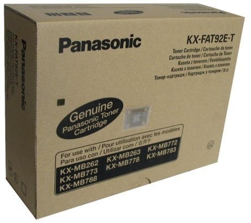 Toner Panasonic KX-FAT92E-T trójpak
