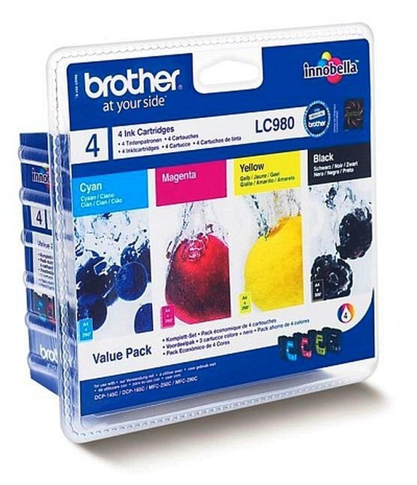 Tusz Brother LC980VALBP zestaw