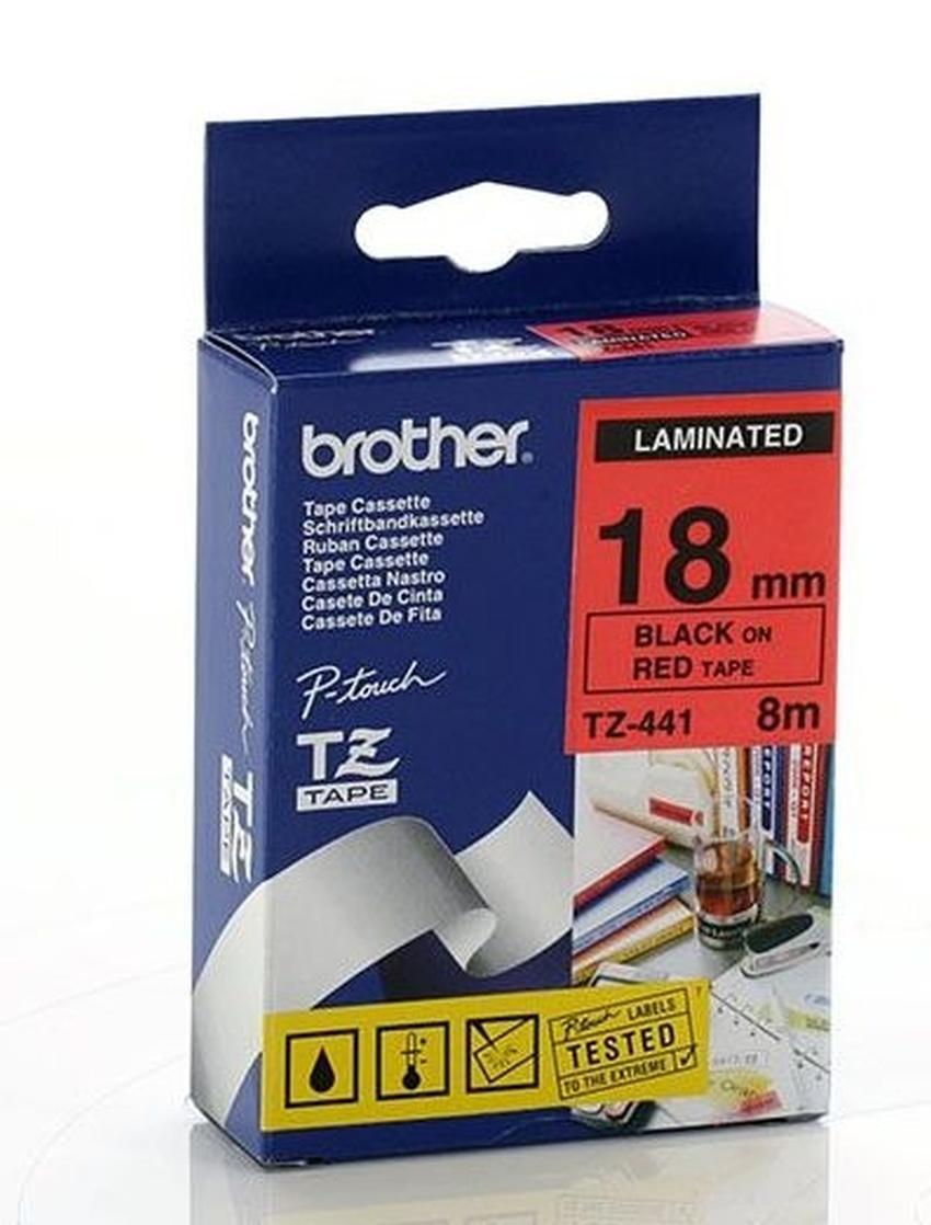 Etykiety laminowane Brother TZ441