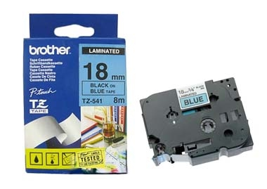 Etykiety laminowane Brother TZ541