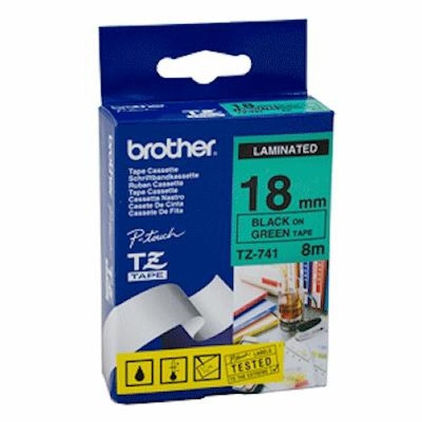 Etykiety laminowane Brother TZ741