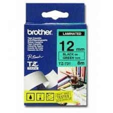 Etykiety laminowane Brother TZ735