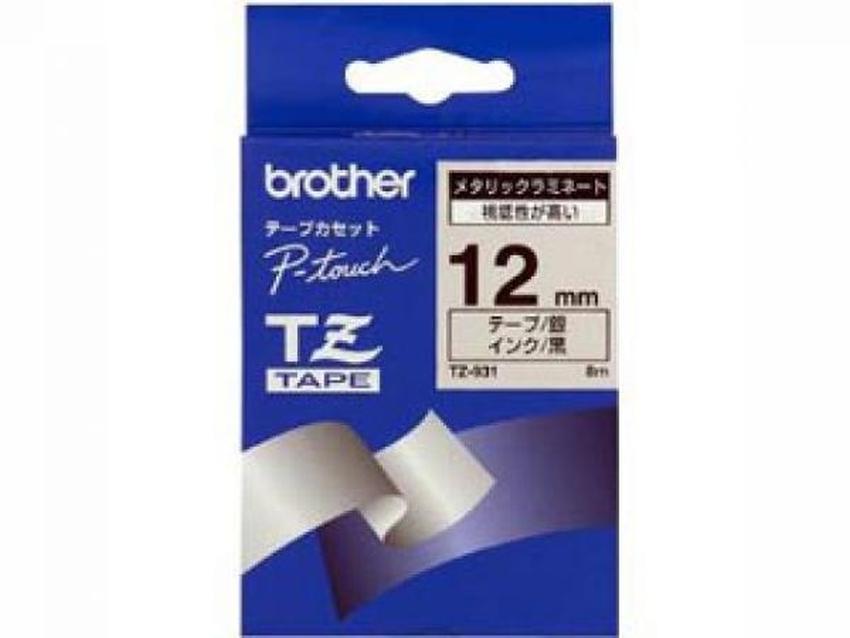 Etykiety laminowane Brother TZ931