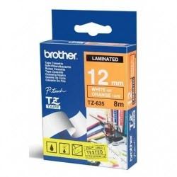 Etykiety laminowane Brother TZ635