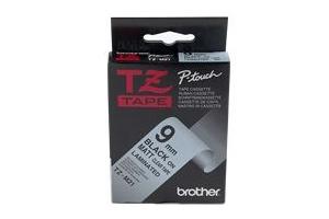 Etykiety laminowane Brother TZM21