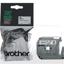Etykiety laminowane Brother MK221BZ