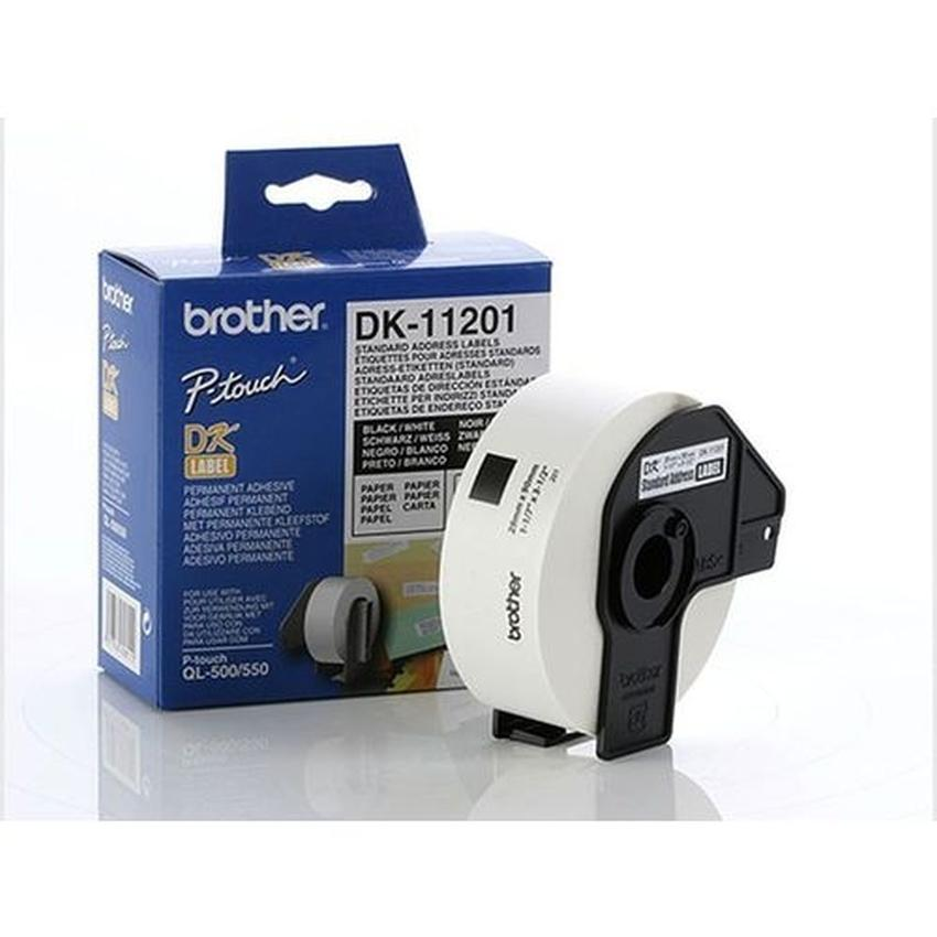 Etykiety laminowane Brother DK11201