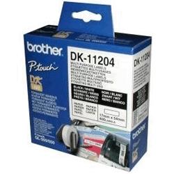 Etykiety foliowe Brother DK11204
