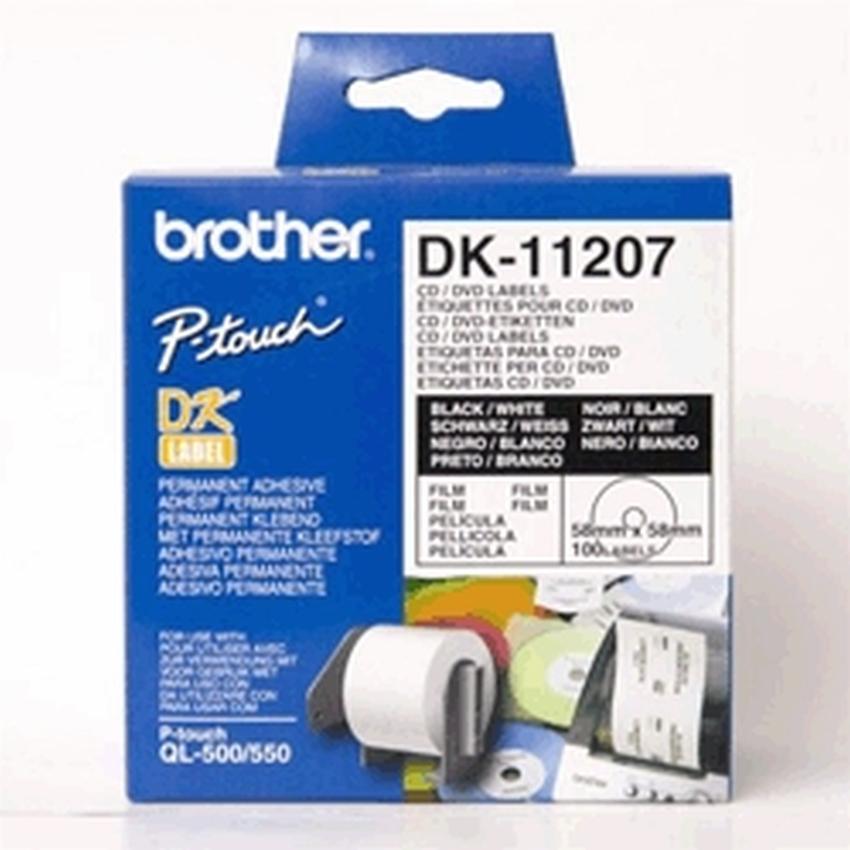 Etykiety laminowane Brother DK11207