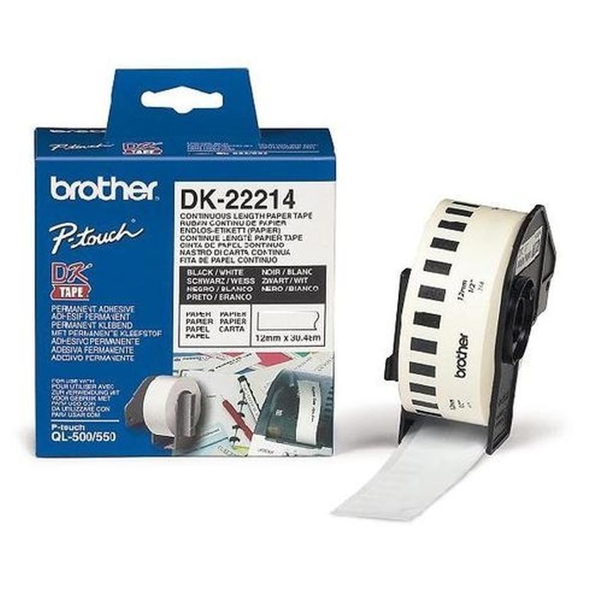 Etykiety laminowane Brother DK22214