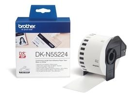 Etykiety laminowane Brother DKN55224