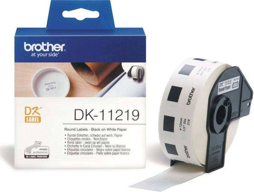 Etykiety laminowane Brother DK11219