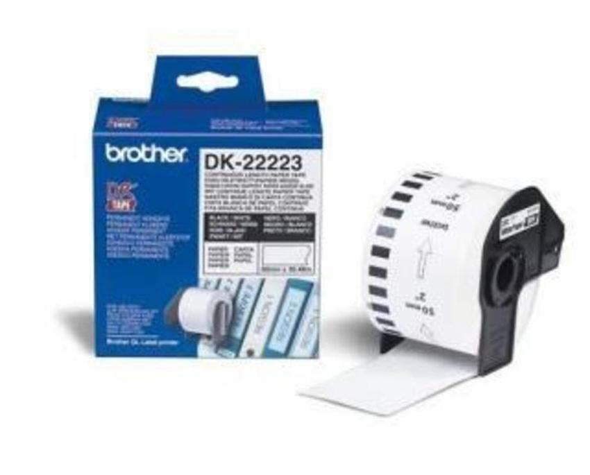 Etykiety laminowane Brother DK22223