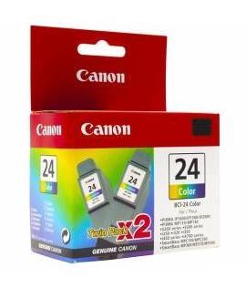 Tusz Canon BCI-24CTWIN dwupak