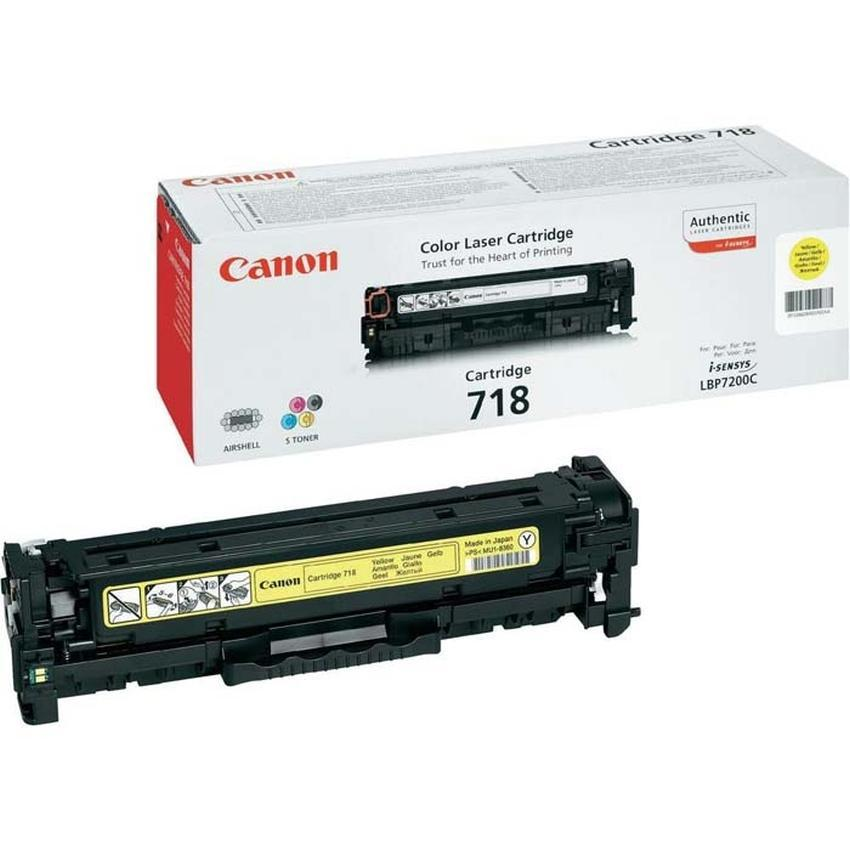 Toner Canon CLBP718Y [2659B002AA]