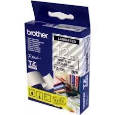 Etykiety laminowane Brother TZE135