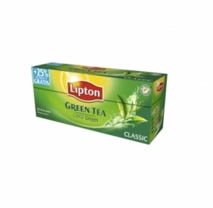 HERBATA ZIELONA LIPTON GREEN TEA CLASSIC