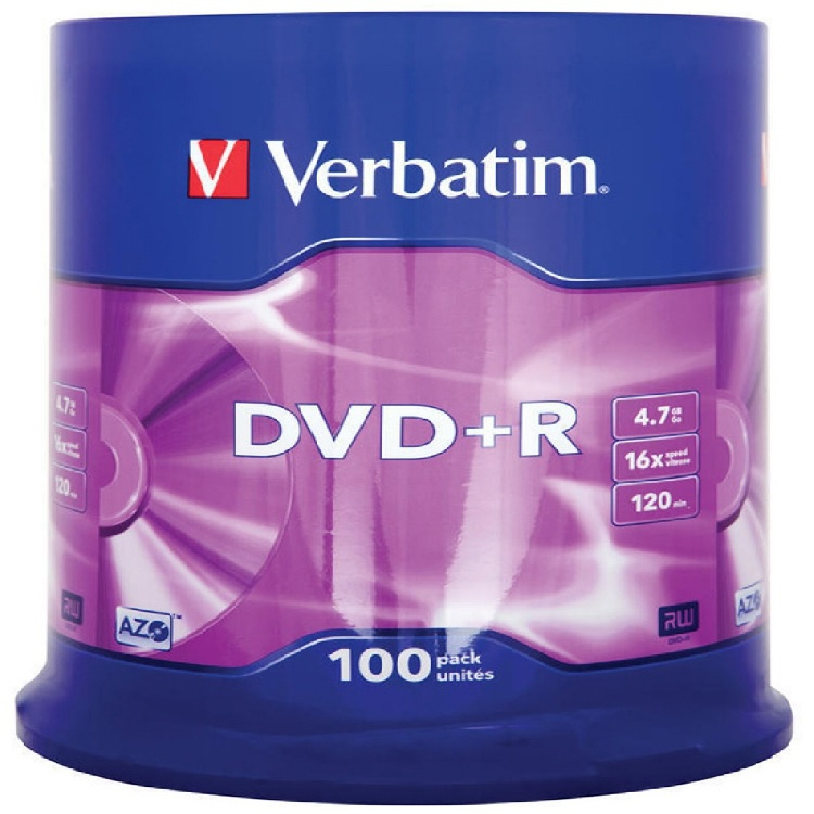 DVD+RW VERBATIM 4,7GB