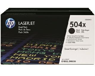 Toner HP 504XD dwupak [CE250XD]