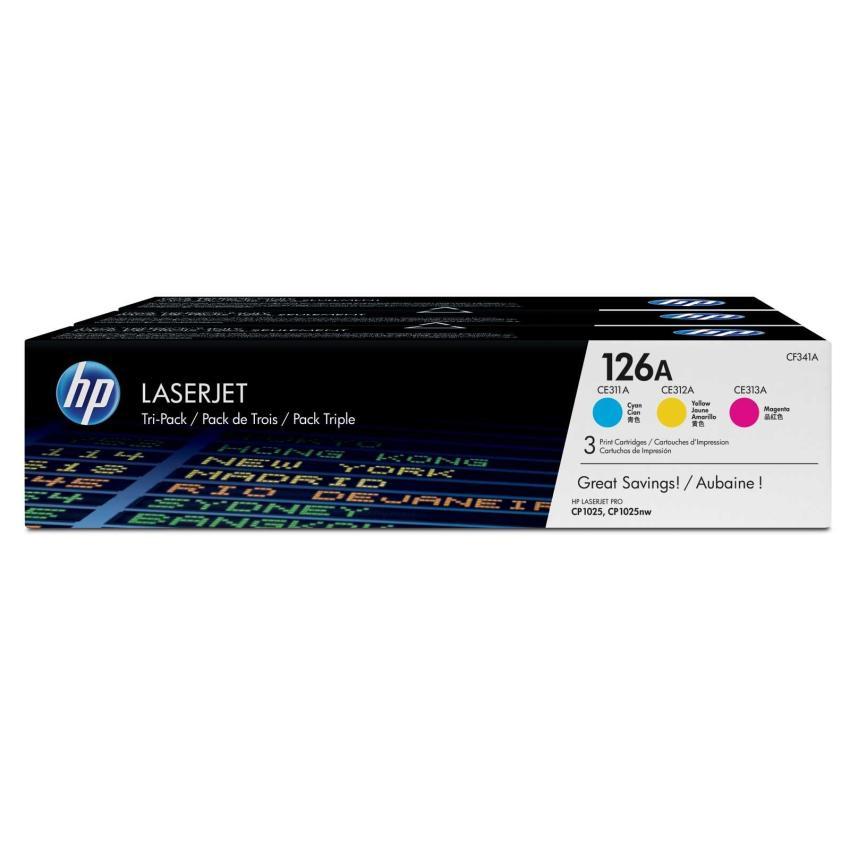 Toner HP 126A [CF341A] zestaw