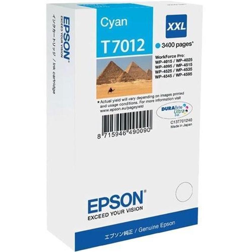 Tusz Epson T7012 XXL [C13T70124010]