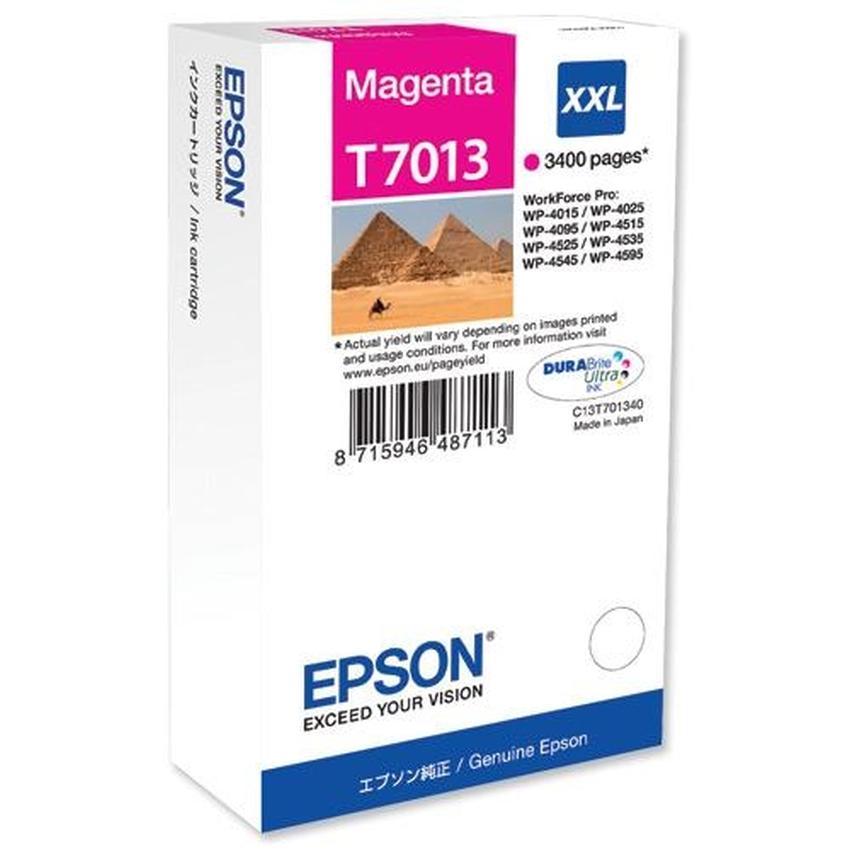Tusz Epson T7013 XXL [C13T70134010]