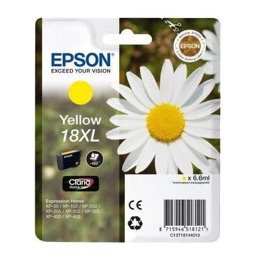 Tusz Epson T1814 Y [C13T18144010]