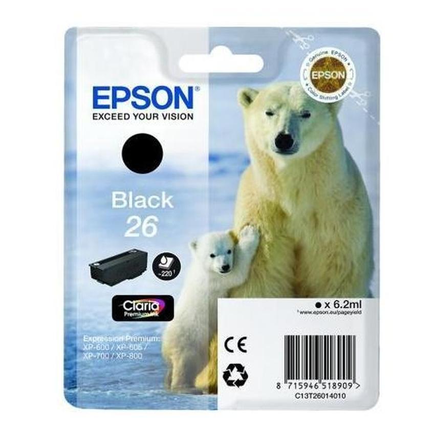 Tusz Epson T2601 Bk