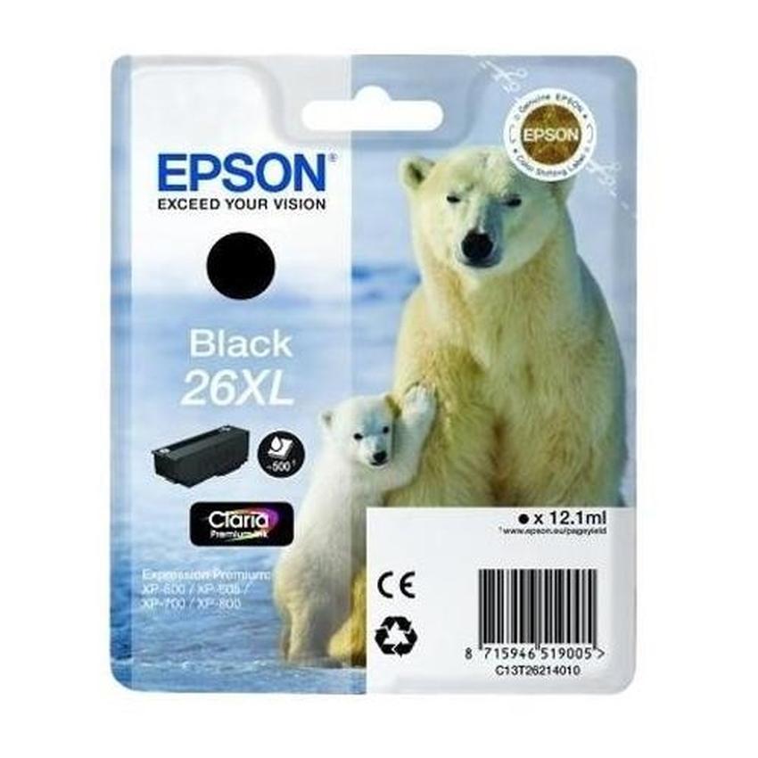 Tusz Epson T2621 XL [C13T26214010]