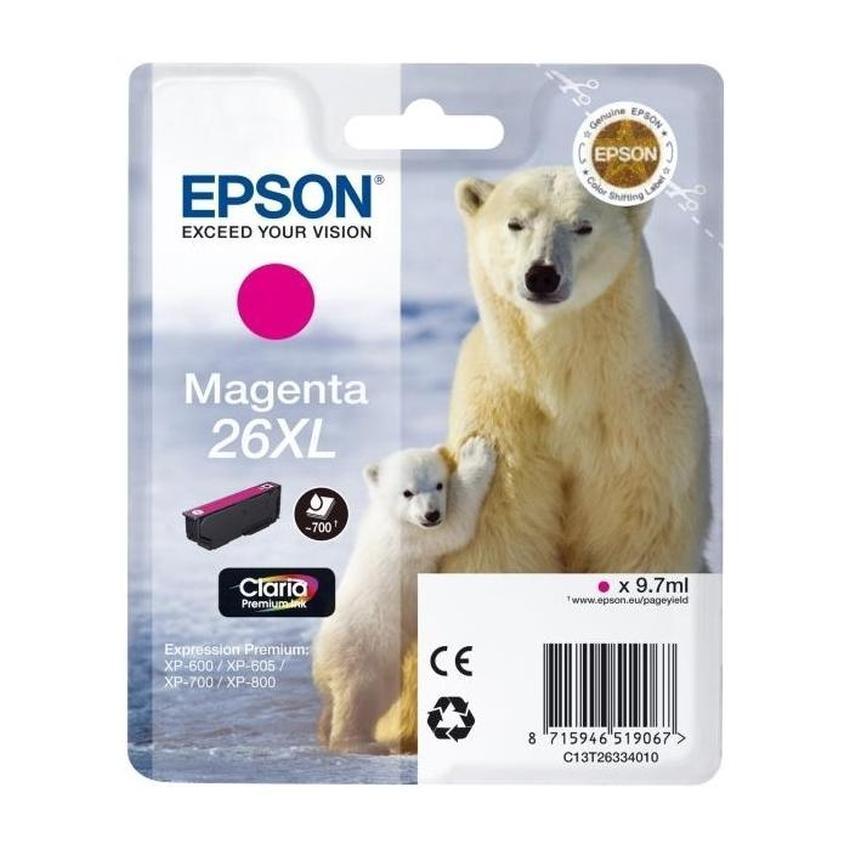 Tusz Epson T2633 XL [C13T26334010]