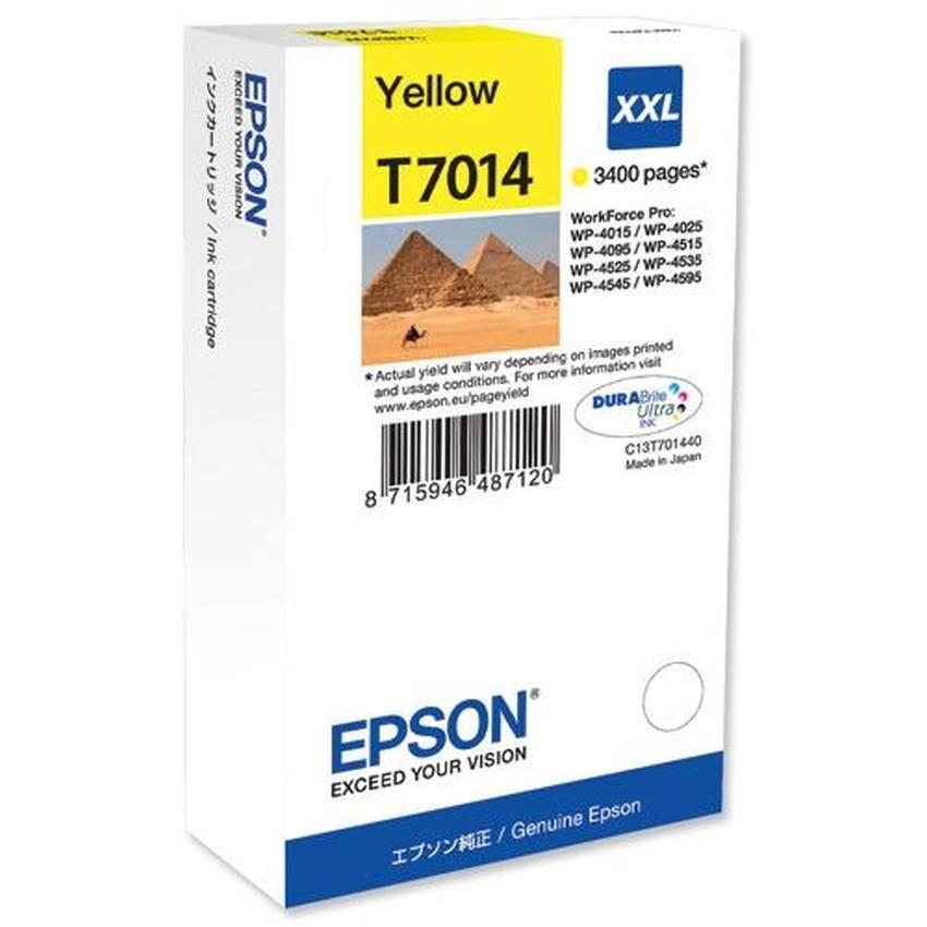 Tusz Epson T7014 XXL [C13T70144010]