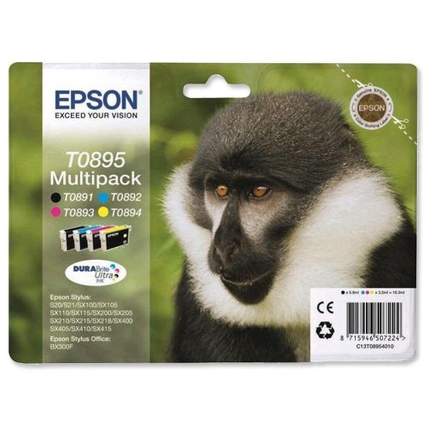 Tusz Epson T0895 [C13T08954010] Multipack
