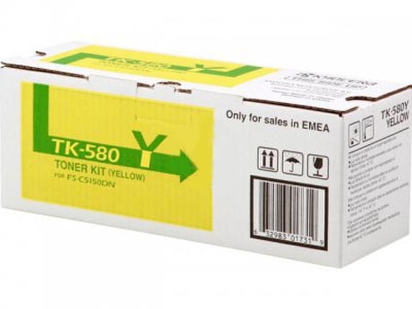 Toner Kyocera TK580Y