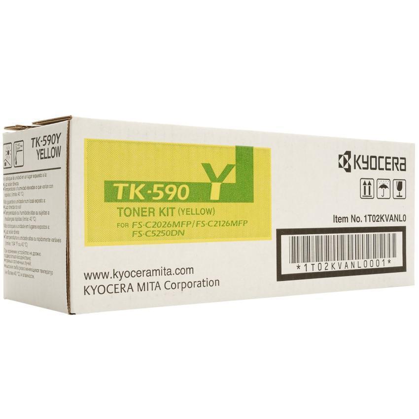 Toner Kyocera TK590Y