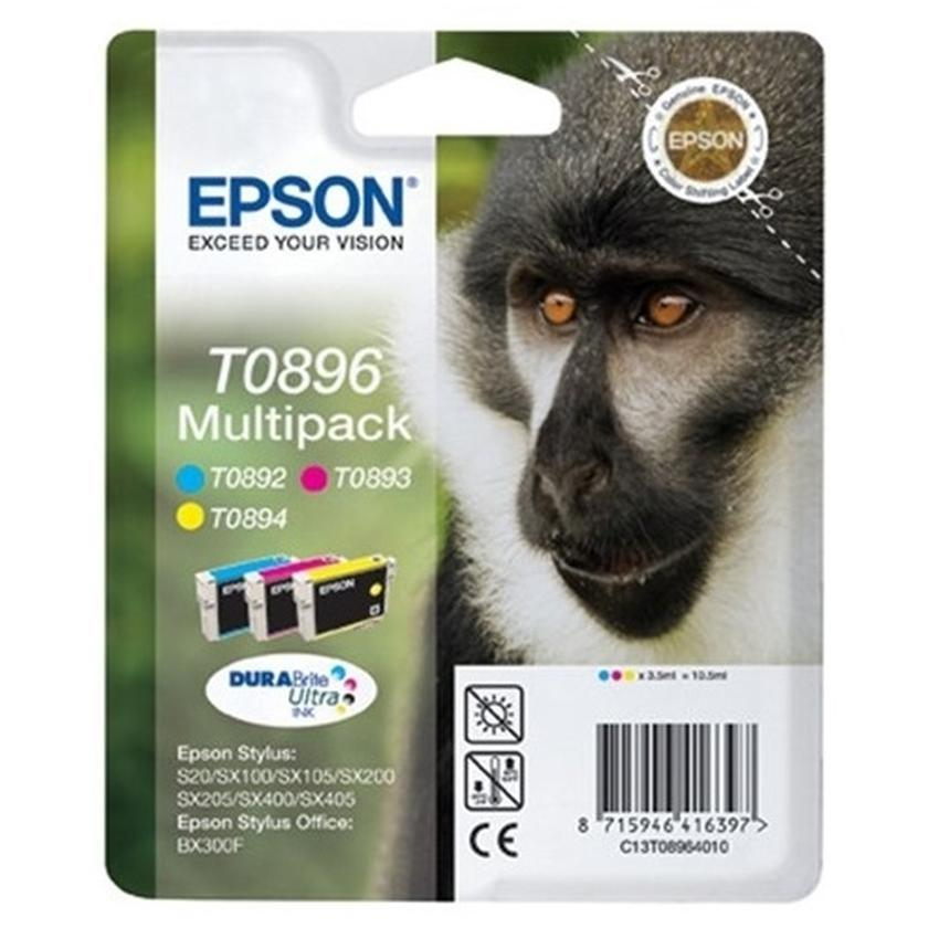 Tusz Epson T0896 [C13T08964010] trójpak