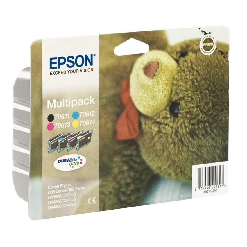 Tusz Epson T0615 [C13T06154010] zestaw