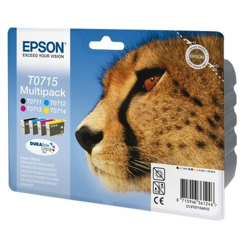Tusz Epson T0715 [C13T07154010] Multipack
