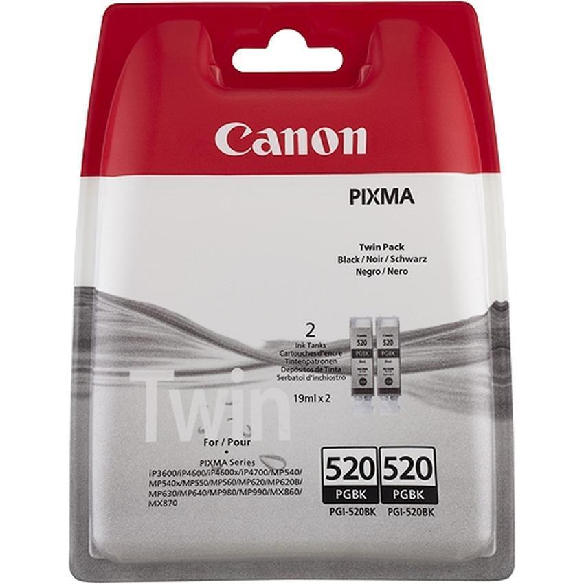 Tusz Canon PGI-520BK TWIN PACK [2932B012]