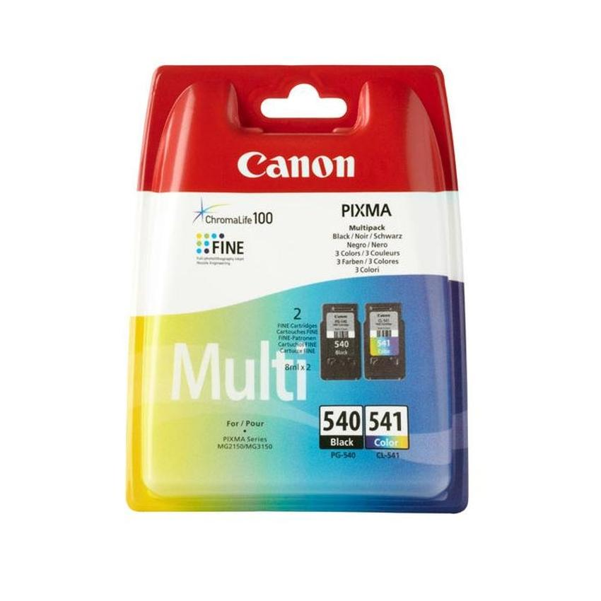 Tusz Canon PG540/CL-541, Multipack 1xbk, kolor (CMY). [5225B006]