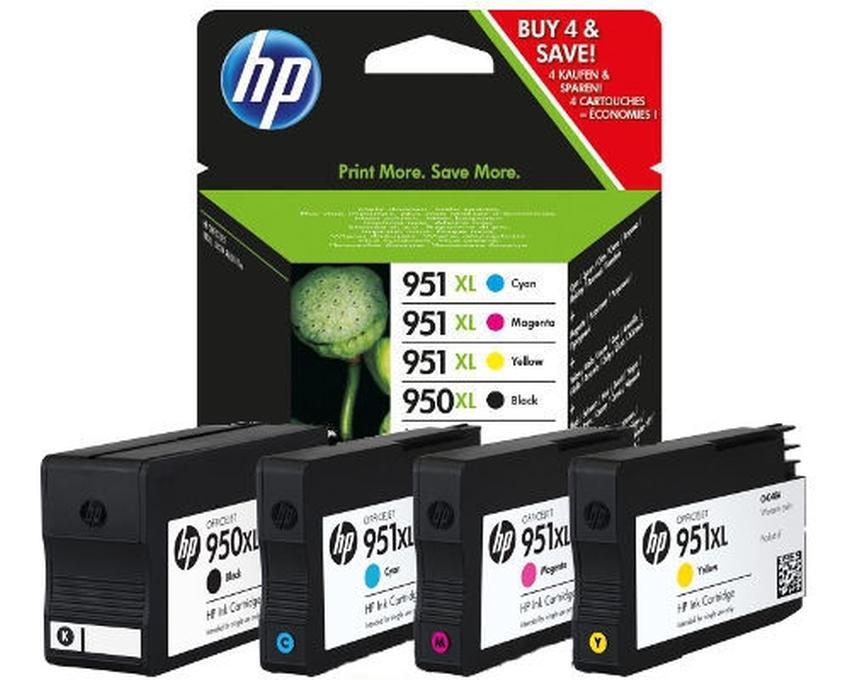 Zestaw tuszy HP 950XL i 951XL [C2P43AE] [pp]