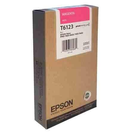 Tusz Epson T6123