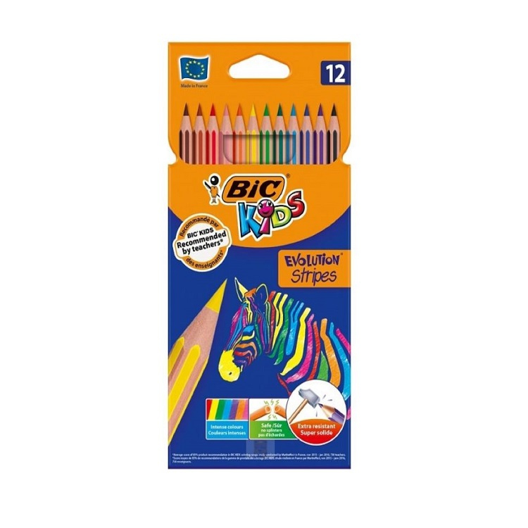 KREDKI BIC KIDS EVOLUTION CIRCUS