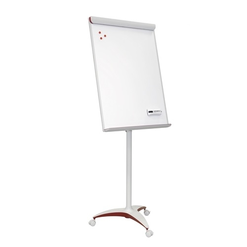 FLIPCHART 2X3 MOBILECHART RED