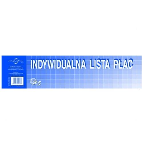 INDYWIDUALNA LISTA PŁAC P5